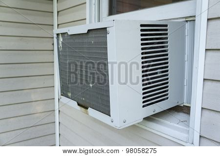 Window Air Conitioner Keeping Things Cool