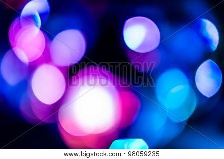 pink Bokeh lights