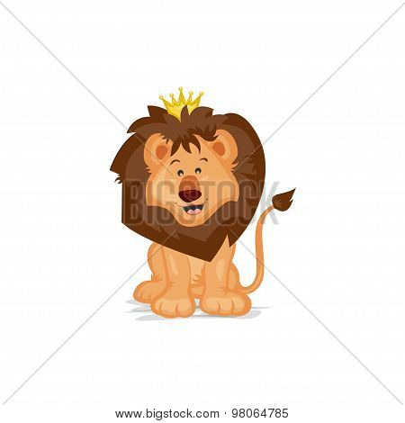 Cute Lion King
