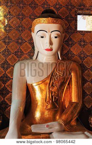 Buddha Statue In Shwedagon Pagoda