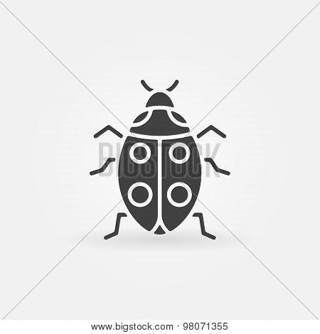 Ladybug icon or logo