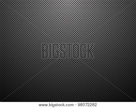 Modern Black Plastic Background With Vignette