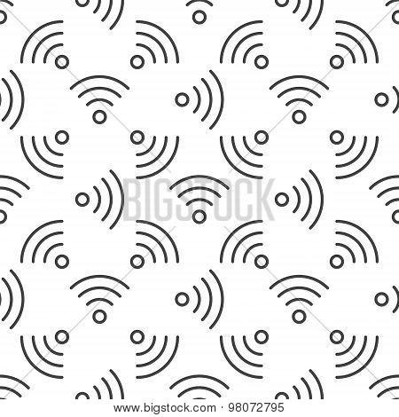 Wi-Fi seamless pattern