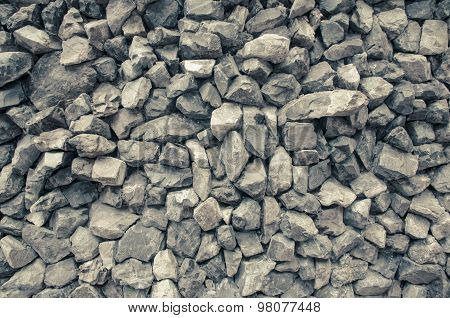 Gray Granite Gravel Abstract Background Texture Pastel Tone