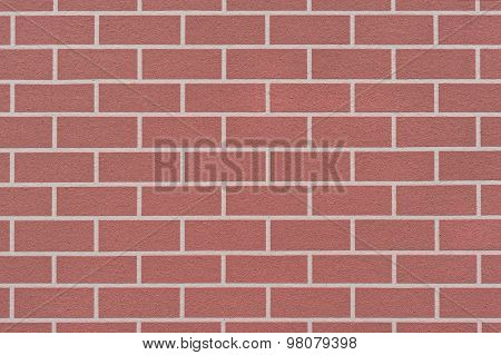 Brick-like Wall Surface Background With Copy Space