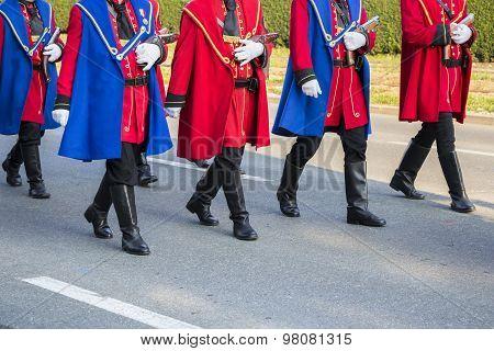 Festive Military Parade