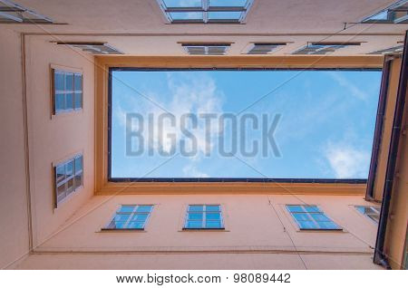 Courtyard With Sky