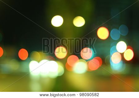 Blurred Lights Set 8