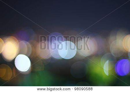 Blurred Lights Set 10