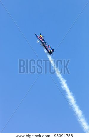 Peter Besenyei From Hungary On The Airshow