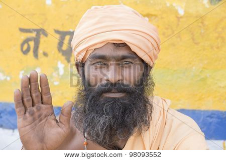 Indian Sadhu - Holy Man