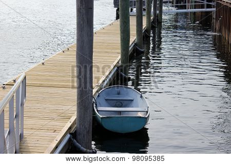 Small Boat at a Dock
