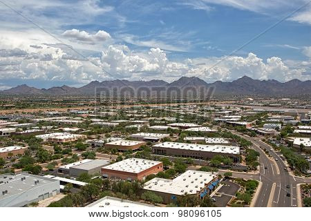 Monsoon Clouds Over Scottsdale, Arizona