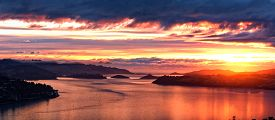 picture of not found  - A sunrise not seen everyday found in Dunedin - JPG