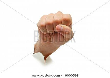Hand fist Sign