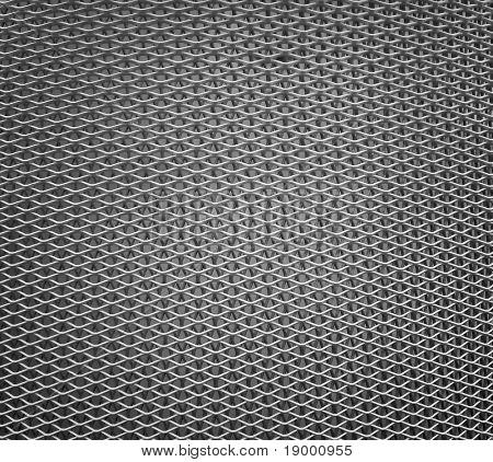 Rejilla metálica - textura