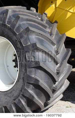 New tractor tyre