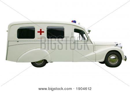 Old Fashioned Ambulance