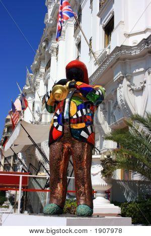 Jazzman Statue