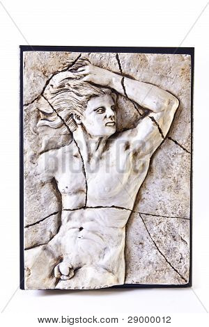 Nude Male Stone Carving