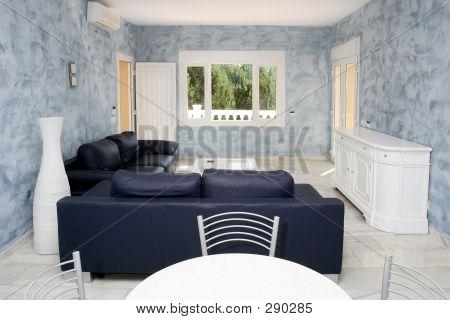 Luxury Interior Of Expensive Apartment