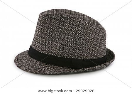 Female hat isolated on white