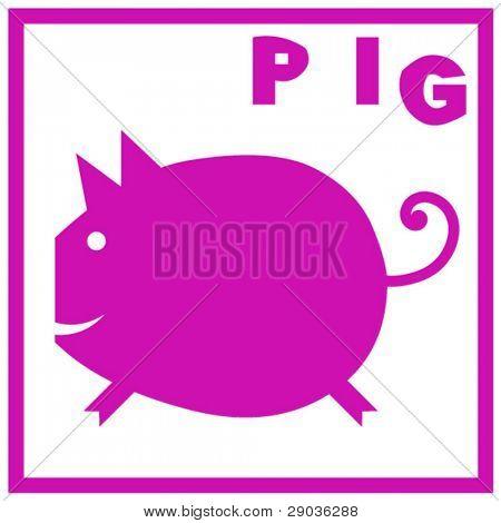 pig, sign of the oriental calendar