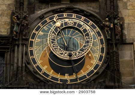 Astrological Clock In Prague