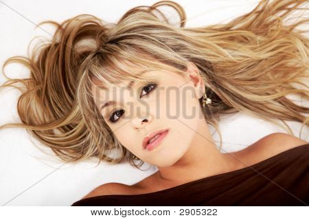 Blond Fashion Woman