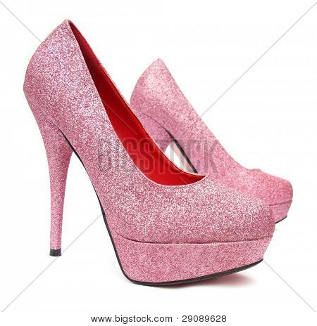Rosa high Heels Pumpe Schuhe