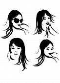 pic of storyboard  - A cool portrait for a close up about a nice woman - JPG