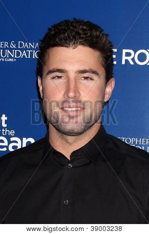 LOS ANGELES - NOV 11:  Brody Jenner arrives at the Life Rolls On Foundation's 9th Annual Night By The Ocean at The Ritz-Carlton on November 11, 2012 in Marina del Rey, CA