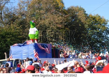 Philadelphia Phillies World Series 2008 Parade