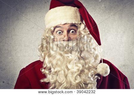 Surprised Santa Claus