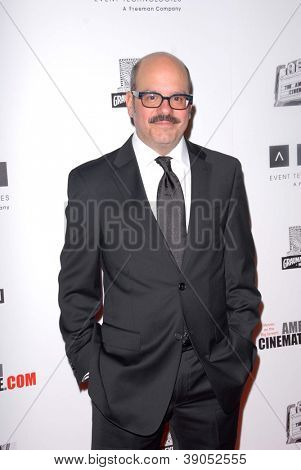 LOS ANGELES - 15 november: David Cross komt voor de 26e Amerikaanse Cinematheque Award ter ere van Ben Sti