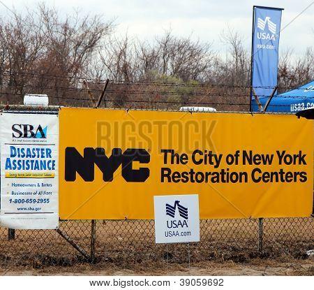 New York City restoration center