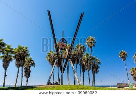 Calçadão de Venice Beach