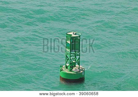 Buoy In Ocean