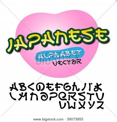 Alphabet Japanese style