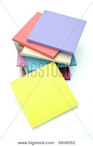 Sticky Notes Stacked