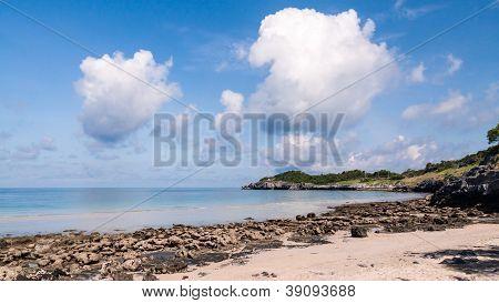 Tropical Sea With Blue Sky