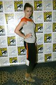 SAN DIEGO, CA - JULY 15: Katie McGrath arrives at the 2012 Comic Con convention press room at the Ba
