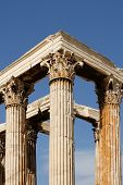 stock photo of olympian  - The Temple of Olympian Zeus - JPG