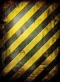 Weathered Warning poster