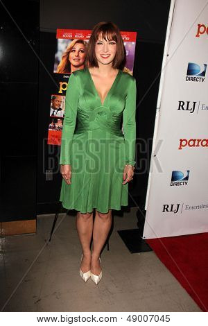 LOS ANGELES - AUG 6:  Diablo Cody arrives at the DirecTV Premiere of