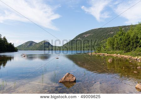 Jordan Pond And The Bubbles