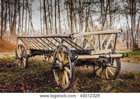 Old Village Wagon