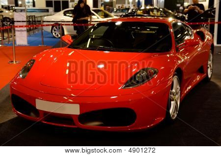 Red Supercar