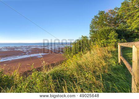 Blomidon Beach In The Morning