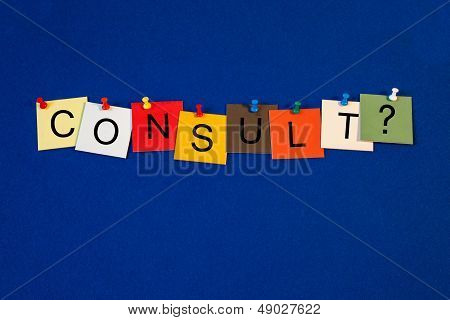 Consult ? - Sign For Business And Consultancy.